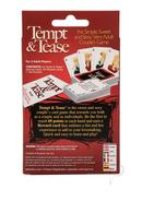Tempt And Tease Couples Game